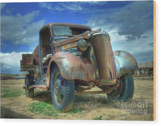 1937 Chevrolet Wood Print