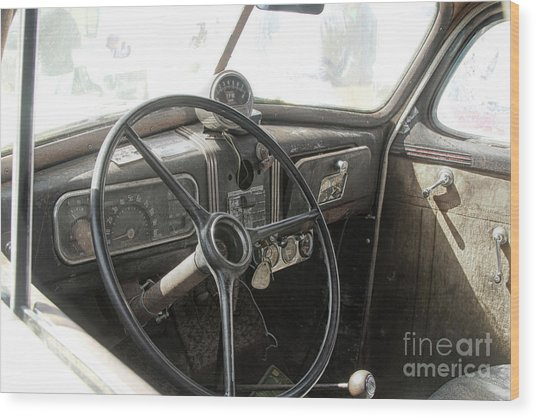 1937 Chevy  Wood Print by Steven Digman