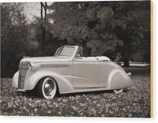 1938 Chevrolet Convertible Wood Print