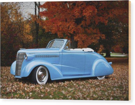 1938 Chevy Wood Print