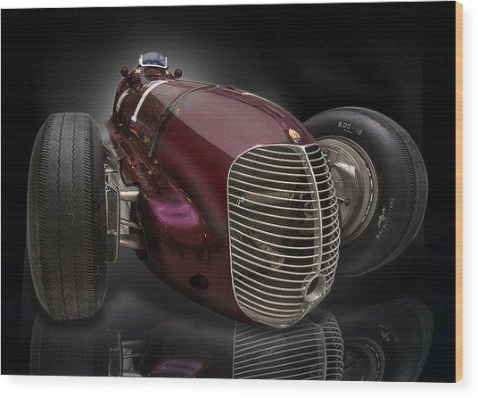 1939 Maserati 8ctf Indy Racer Wood Print
