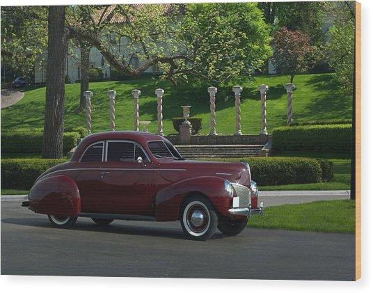 1940 Mercury Coupe Wood Print