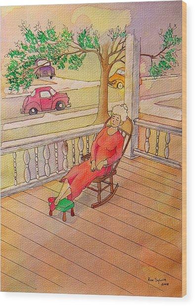 1940 Wood Print by Ron Sylvia