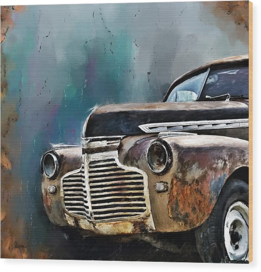 1941 Chevy Wood Print