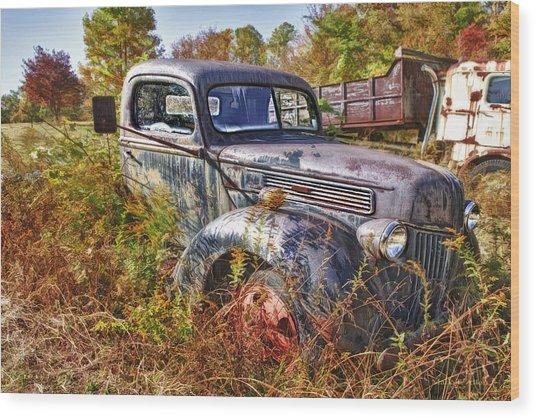 1941 Ford Truck Wood Print
