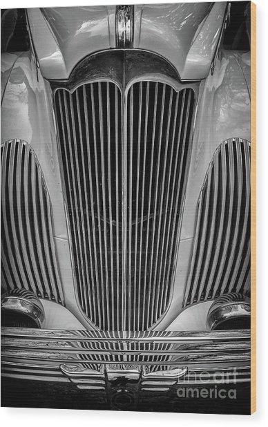 1941 Packard Convertible Wood Print