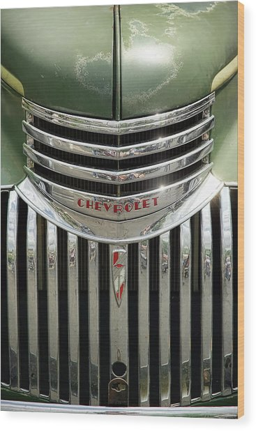 1946 Chevrolet Pick Up Wood Print