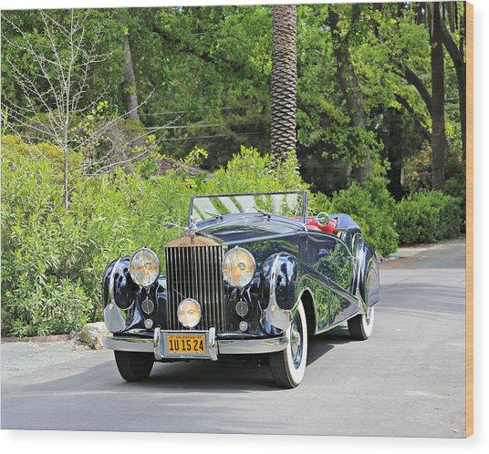 1947 Inskip Rolls Royce Wood Print