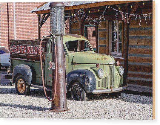 1947 Studebaker M-5 Pickup Truck Wood Print