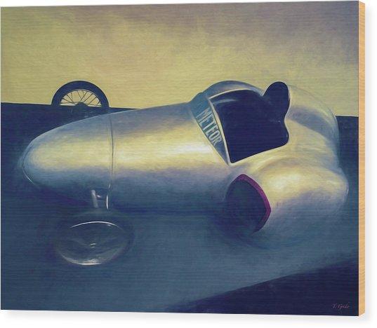 1948 Rocket Car Wood Print by Tony Grider