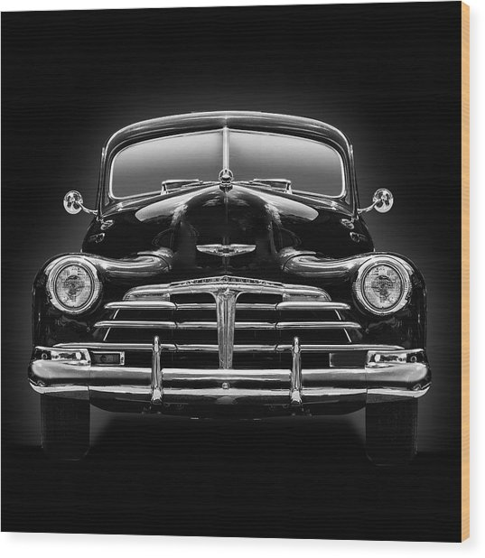 1950 Chevy Wood Print