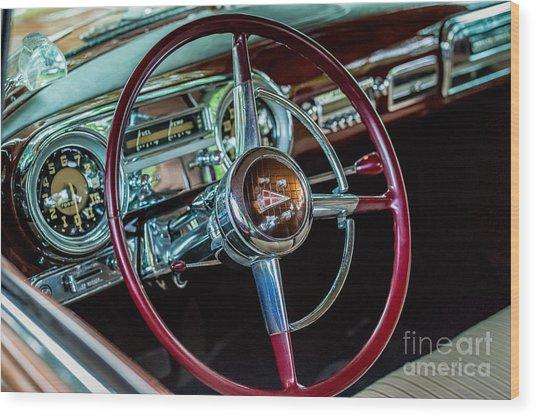 1951 Hudson Hornet Wood Print