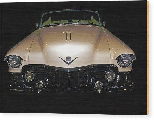 1953 Cadillac Le Mans Custom 2 Seat Convertible Wood Print