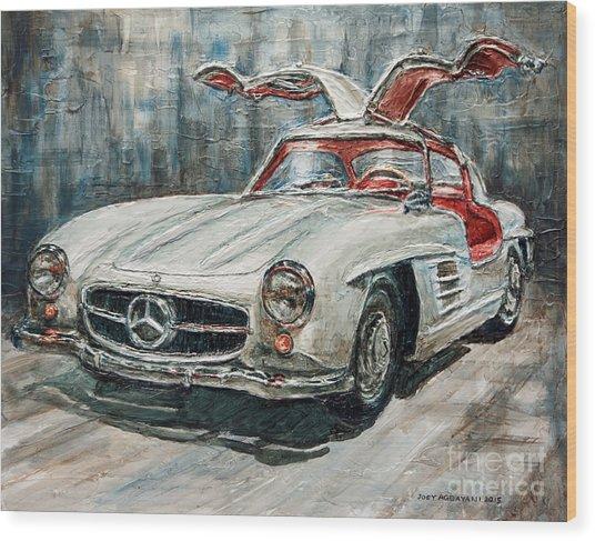 1954 Mercedes Benz 300 Sl Gullwing Wood Print