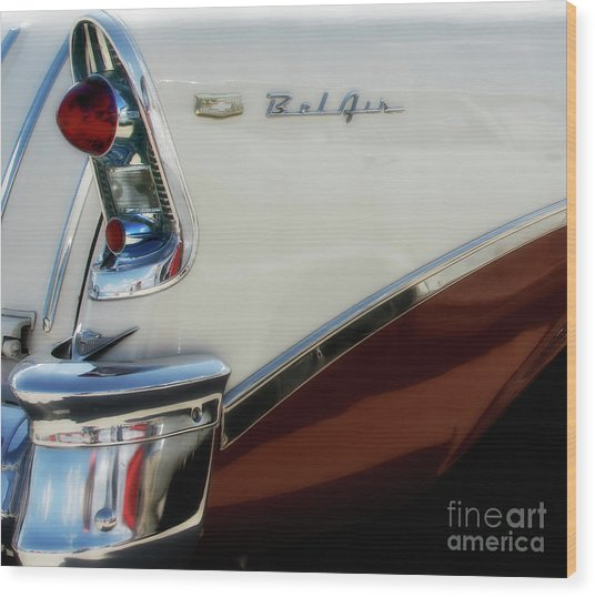 1956 Chevy Nomad  Wood Print by Steven Digman