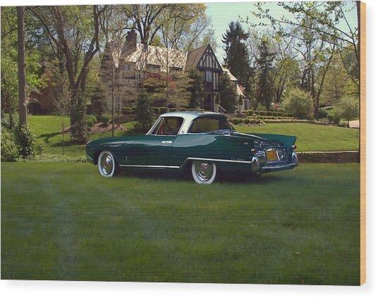 1956 Nash Rambler Palm Beach Coupe Wood Print