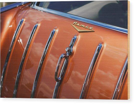 1957 Chevrolet Nomad Wood Print