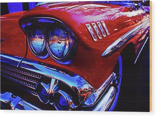 1958 Chevrolet Impala Wood Print