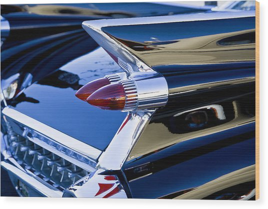 1959 Cadillac Coupe Deville  Wood Print