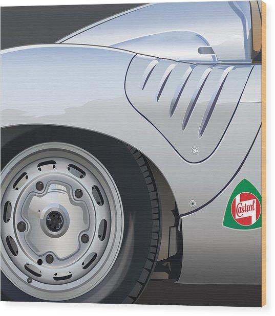 1959 Porsche Rsk Wood Print