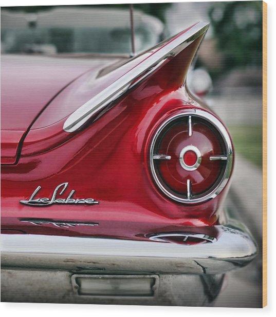 1960 Buick Lesabre Wood Print
