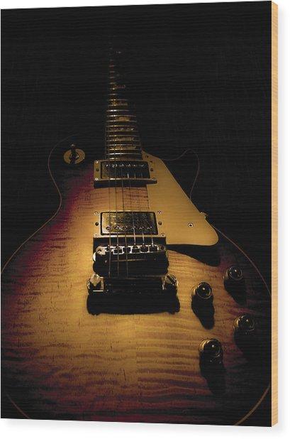 1960 Reissue Guitar Spotlight Series Wood Print