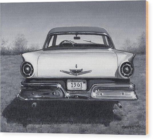 1961 Wood Print