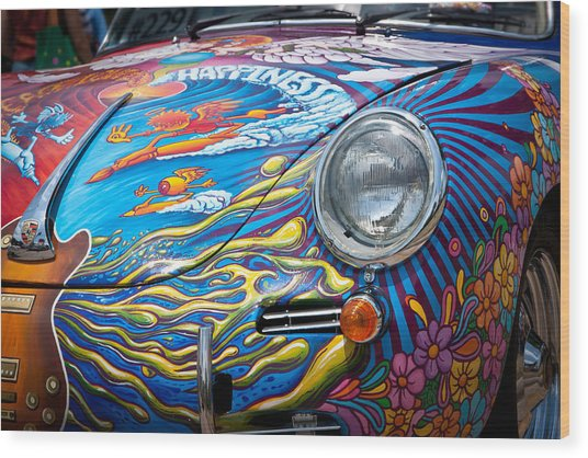 1963 Porsche Wood Print
