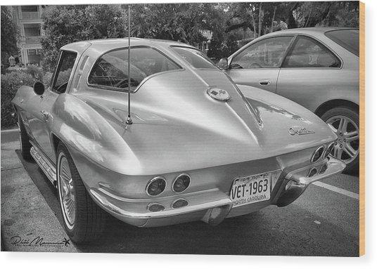 1963 Split Rear Window Coupe Wood Print