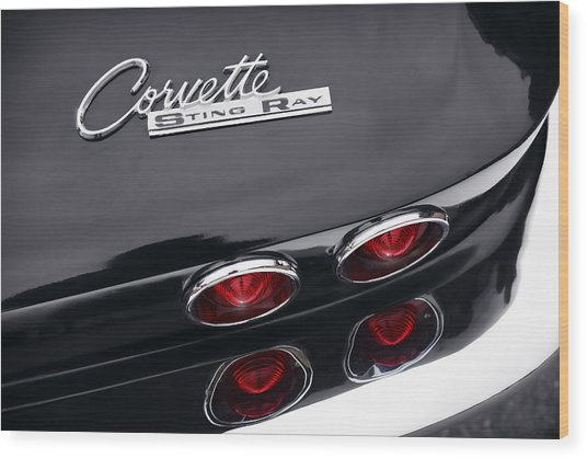 1964 Chevrolet Corvette Sting Ray  Wood Print