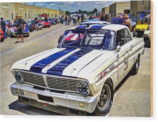1964 Ford Falcon #51  Wood Print