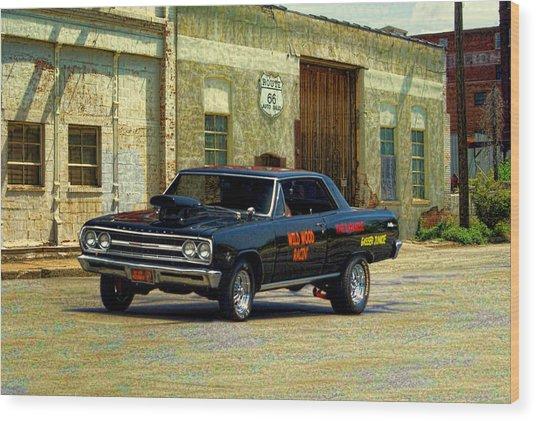 1965 Chevelle Gasser Wood Print