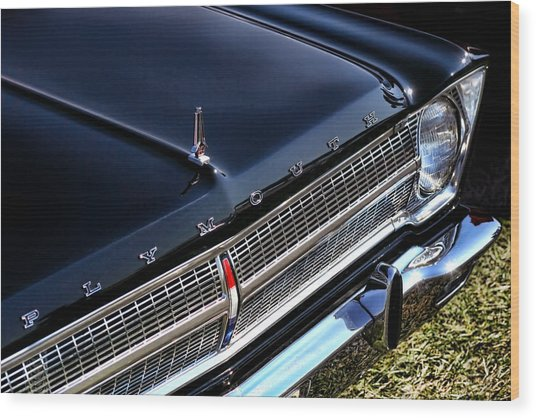 1965 Plymouth Satellite 440 Wood Print