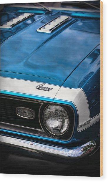 1968 Chevy Camaro Ss 396 Wood Print