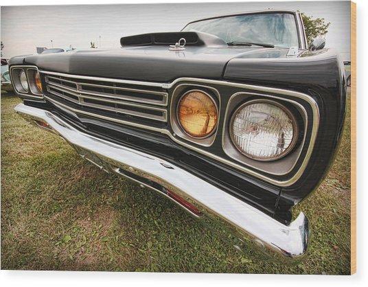 1969 Plymouth Road Runner 440-6 Wood Print