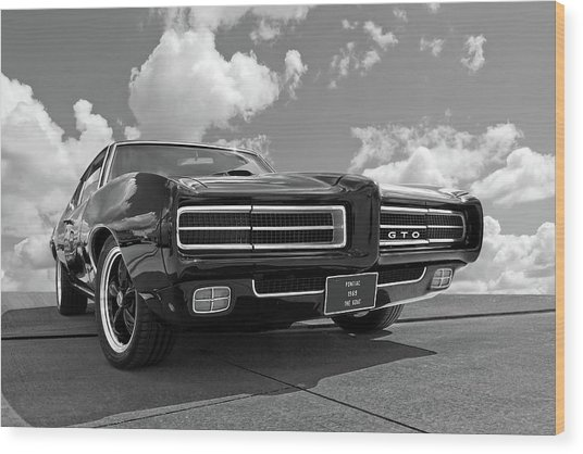 1969 Pontiac Gto The Goat Wood Print
