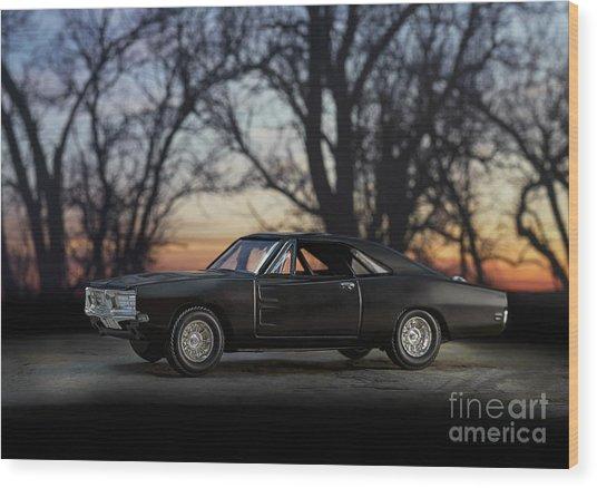 1969 Roadrunner Wood Print