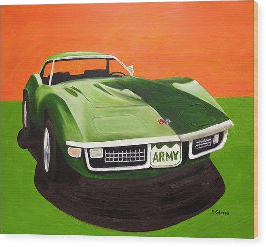 1971stingray-army Wood Print