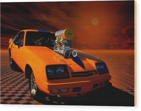 Dragster Wood Prints and Dragster Wood Art | Pixels