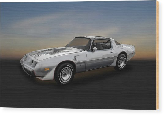1979 Pontiac Firebird Trans Am 10th Anniversary  -  79pont985 Wood Print
