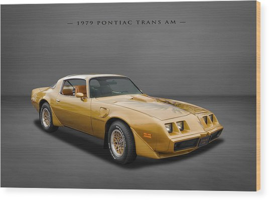 1979 Pontiac Firebird Trans Am Wood Print