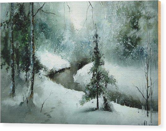1st Of January Wood Print