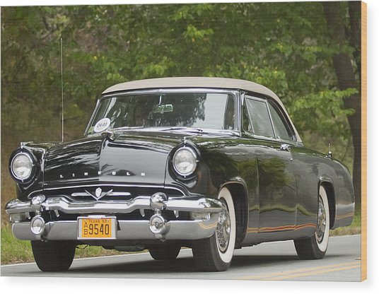 1953 Lincoln Capri Derham Coupe Wood Print
