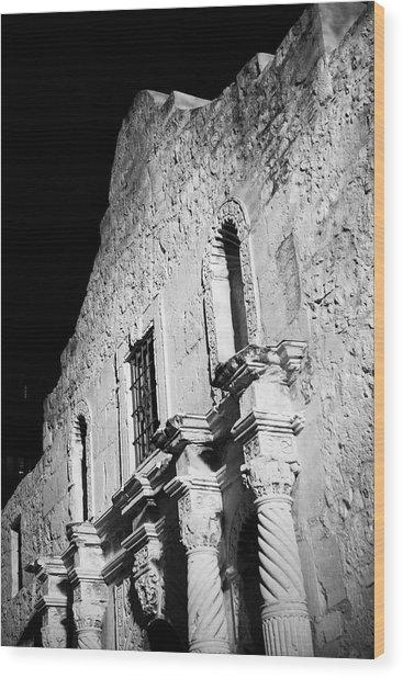 Alamo Wood Print