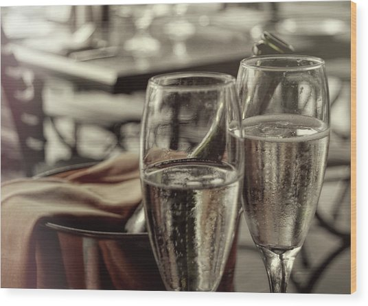 All Sparkling Wood Print by JAMART Photography