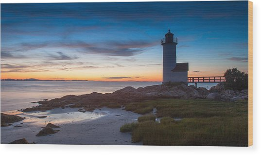 Annisquam Lighthouse Wood Print