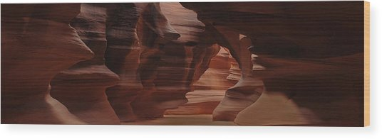 Antelope Canyon Wood Print by Don Wolf