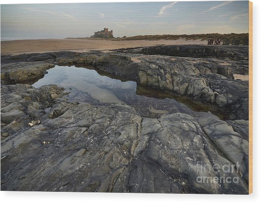 Bamburgh Castle Wood Print