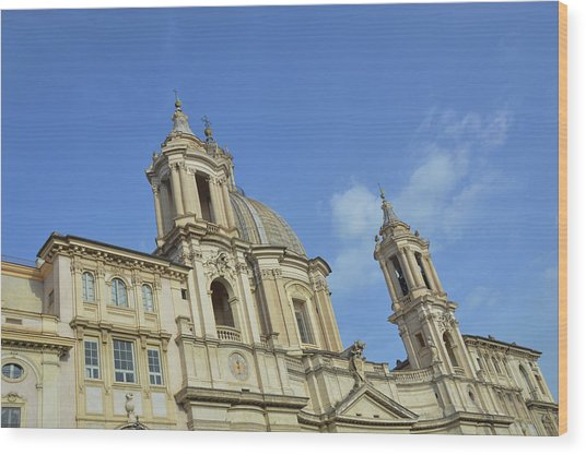 Baroque Church Wood Print by JAMART Photography