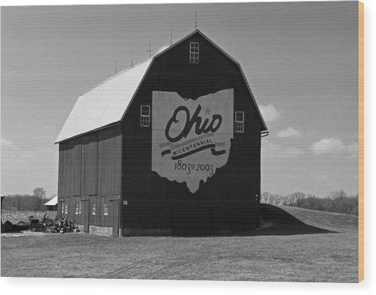 Bicentennial Barn Wood Print